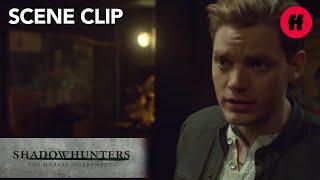 Shadowhunters | Season 2, Episode 13: Jace and Maia Kiss | Freeform