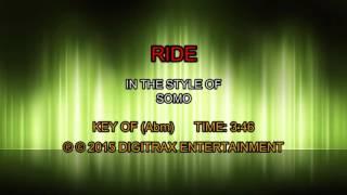 SoMo - Ride (Backing Track)
