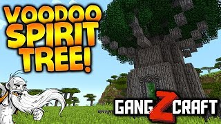 """GangZcraft Modded Minecraft Ep05 - """"UNDEAD ARMY & VOODOO TREES!!!"""" - Minecraft Modpack Let"""