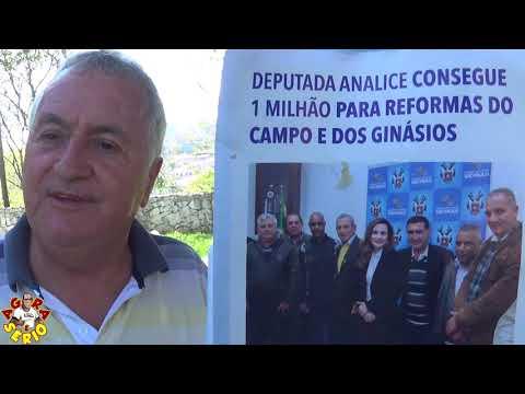 Vice-prefeito Bernardo diz: A deputada Analice Fernandes não está dizendo a verdade nesse panfleto do 1 milhão de reais para o esporte de Juquitiba
