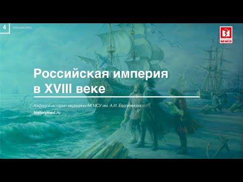 """Лекция №4 """"Российская империя в XVIII вв"""" Часть №2"""