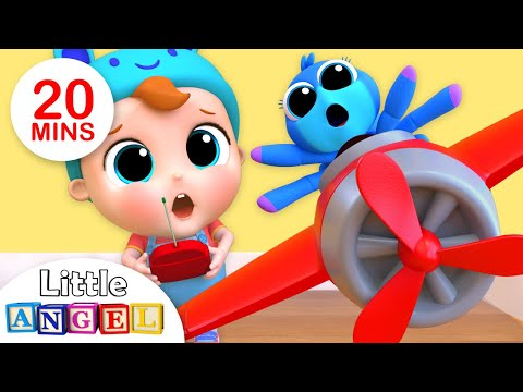 Itsy Bitsy Spider Nursery Rhyme More Kids Songs By Little Angel