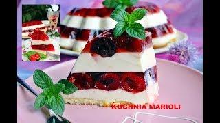 Jogurtowy Sernik Na Zimno Z Oreo I Truskawkami Kitchenbooktv