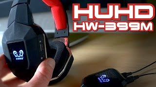 HUHD HW-399M / Wireless Gaming Headset 2.4Ghz // Testbericht
