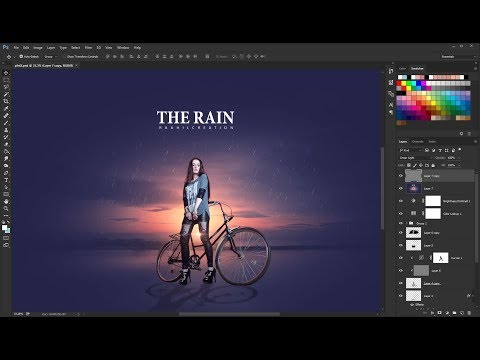 Download Season rainy - Photoshop Color Effect - Photoshop Tutorial HD Mp4 3GP Video and MP3