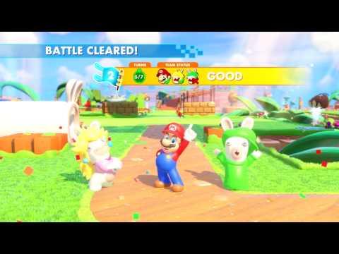Mario + The Lapins Crétins Kingdom Battle #Vidéo 1 JVL (Reach, Defeat all)  de Mario + The Lapins Crétins Kingdom Battle
