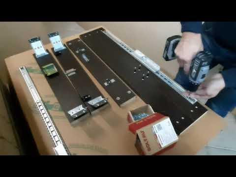 Как собрать раздвижной стол БУОНИ (видеоинструкция)