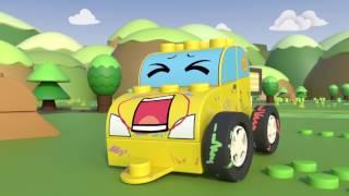 Чичиленд - Авария - Мультики про машинки-трансформеры для детей, малышей