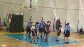 "Jr.NBA. Полуфинал (юн). ""МКНО"" vs ""Гимназия №35"". 08-04-2018"