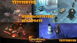 Drakensang Online TESTSERVER - R214 Update + Winterevent