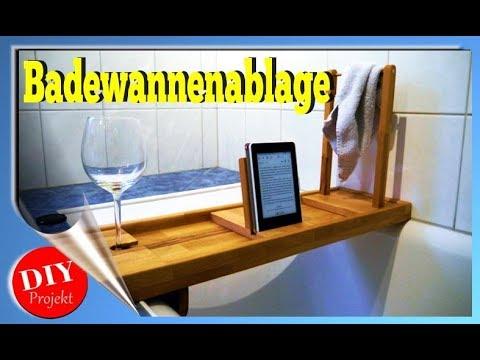 Badewannenbrett Badewannenablage DIY Projekt, selber bauen , Badeablage, Holzarbeit, Werkstatt