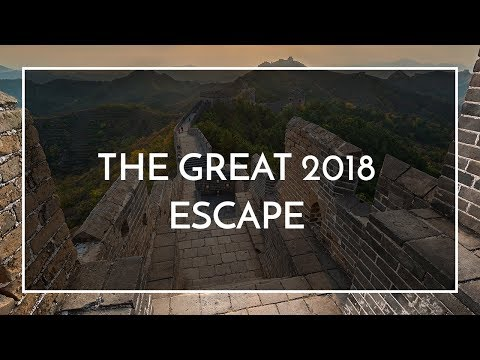 Wendy Wu Tours - The Great 2018 Escape!