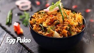 Aaj khaane mein kya hai Desi Chinese Egg Pulao hai
