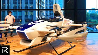 Japan Officially Reveals Flying Car