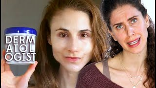 Esthetician Reacts | Dermatologist Dr Drays Nighttime Skincare Routine | Go To Bed With Me