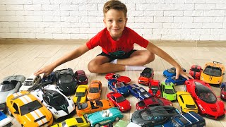 Mark and many cars for kids - magical stories