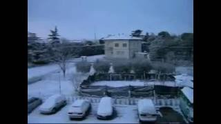 preview picture of video 'Nevicata a Ponte San Giovanni'