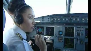Journey to north (Air Astana Airbus A320-232) - Ladies First ! Part 1.