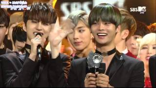 [SUB ESPAÑOL] 151117 VIXX - Chained up 1st WIN (The Show)