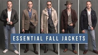 5 Essential Jackets For Your Fall Wardrobe | Trench, Bomber, Suede Jacket | Fall Outfit Ideas