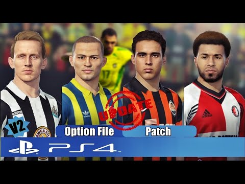 PES 2019 UEFA Classic League V4 (90's 00's) - PS4 ***WITH LINK