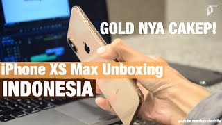 Review & Unboxing iPhone XS Max Gold & Grey - Indonesia by iTechlife - dooclip.me