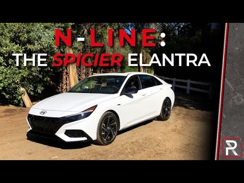 The 2021 Hyundai Elantra N-Line is a Budget Friendly Sport Sedan For Your Daily Commute