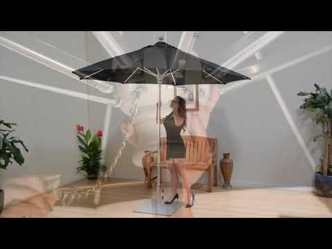 Galtech 735 Series Commercial Market Umbrellas