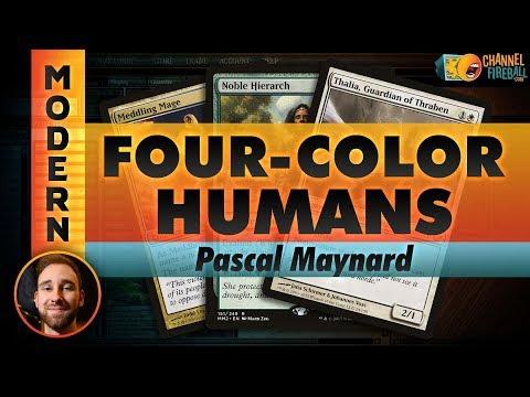 Channel PMayne - Modern 4c Humans (Deck Tech & Matches)