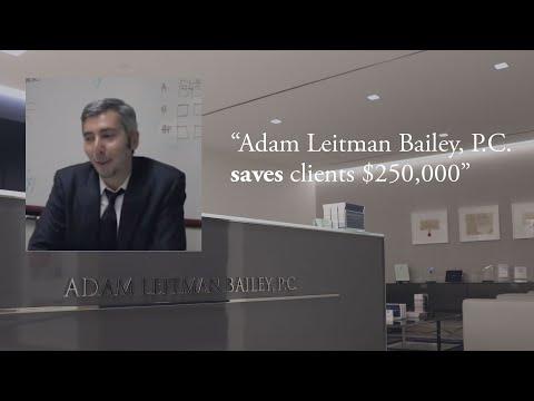 """Adam Leitman Bailey, P.C. Saves Clients $250,000"" testimonial video thumbnail"