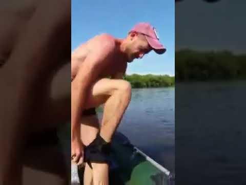 Wilhiam do Rio Abaixo descobre da pior maneira que a represa está secando