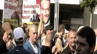 EU-Wahlkampffinale 2009 FPÖ am Viktor-Adler-Markt