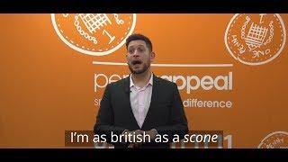 Abdullah Afzal  - I'm #AsBritishAs a scone