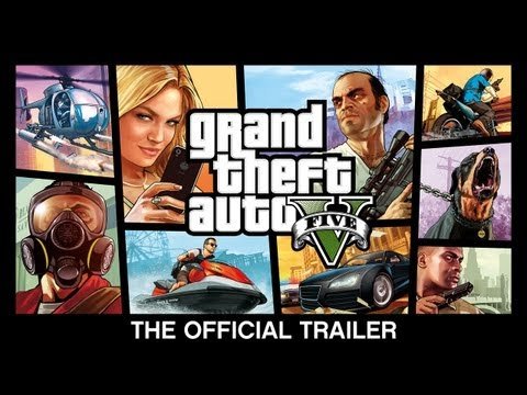 Commercial for Grand Theft Auto V (2013) (Television Commercial)