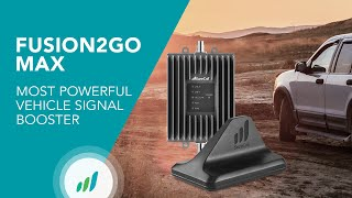 Fusion2Go Max: Most Powerful Vehicle Signal Booster for Car, Truck or SUV | SureCall