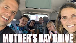 DRIVING 420 MILES TO LAS VEGAS WITH FOUR KIDS IN A MINIVAN ON MOTHER'S DAY