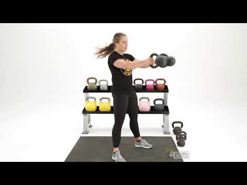 Double Kettlebell Swing