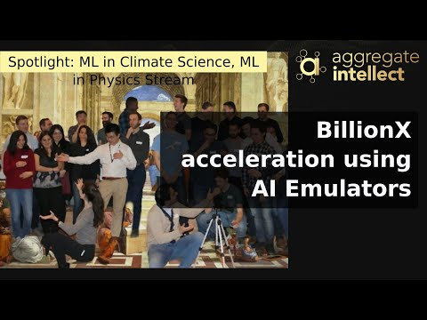 BillionX acceleration using AI Emulators