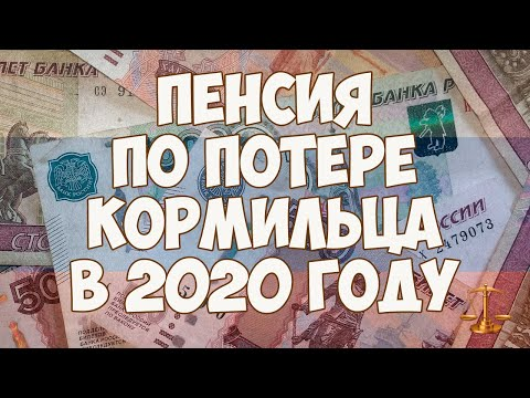 Пенсия по потере кормильца в 2020 году