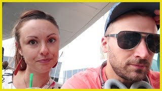 THE AIRPORT RUINED OUR TRIP TO VIDCON!!