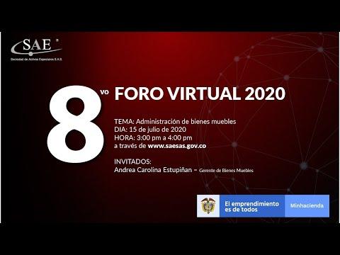 8vo Foro Virtual -Administración de bienes muebles