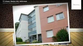 T1 à louer, Nantes (44), 365€/mois