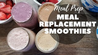 Meal Replacement Shakes Weight Loss Recipes  Healthy Protein Smoothies