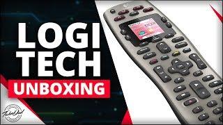 Logitech Harmony 650 Universal Remote Under $40!!   Unboxing and Setup