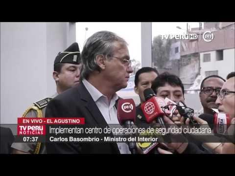 El Agustino refuerza seguridad ciudadana con cámaras de videovigilancia
