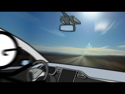 Road Trip Time Lapse Across The Loneliest Road in America