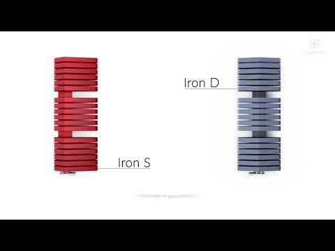 Видео презентация полотенцесушителей Terma Iron D и Iron S