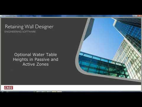 Retaining Wall Designer