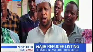 Wajir refugess rush to beat registration deadline