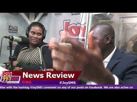 #JoySMS Newspaper Review on Joy FM (20-9-18)